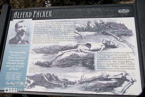 Lake City Massacre sign