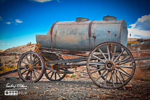 Cripple Creek Visitor Center - Water Wagon