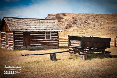 Florissant Fossils Beds - Adeline Hornbek Homestead
