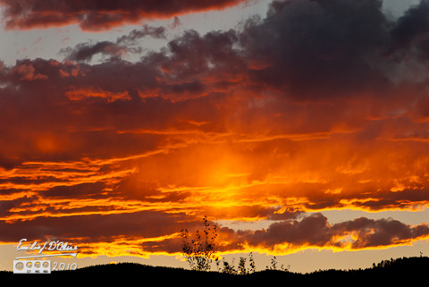 September 2010 - sunset - Monument, CO