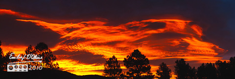 November 19, 2010 sunrise - Woodland Park, CO