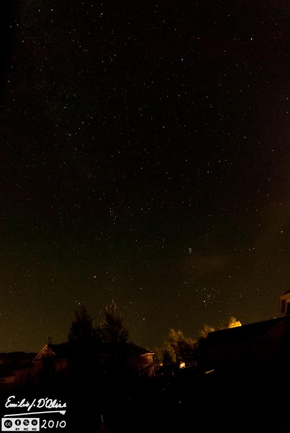 Night Sky - 2 - Eastern View
