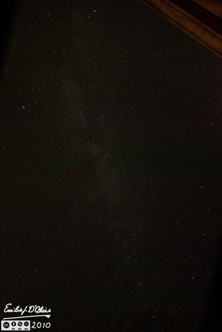 Shot straight up - the Milky Way