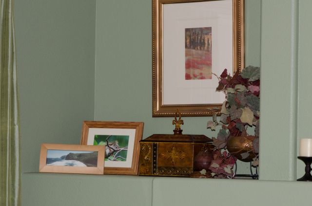 A corner of my living room