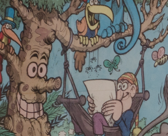 Jacovitti Poster - 100% crop - as shot