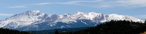 D7000 Panorama - Pikes Peak