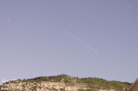 ISS flyover - 30sec exposure