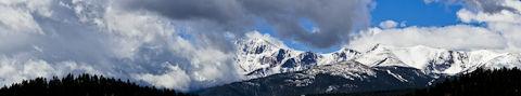 Pikes Peak Panorama from 5 photos