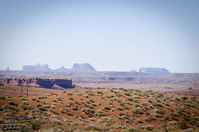 Monument Valley as seen from US-191