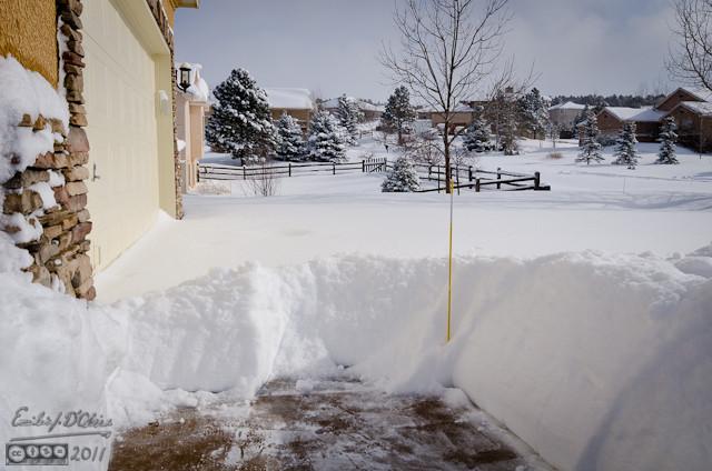 Good amount of snow
