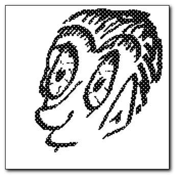 Mind-saving doodle - self-portrait