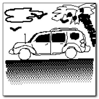Mind-saving doodle - Chevy's HHR