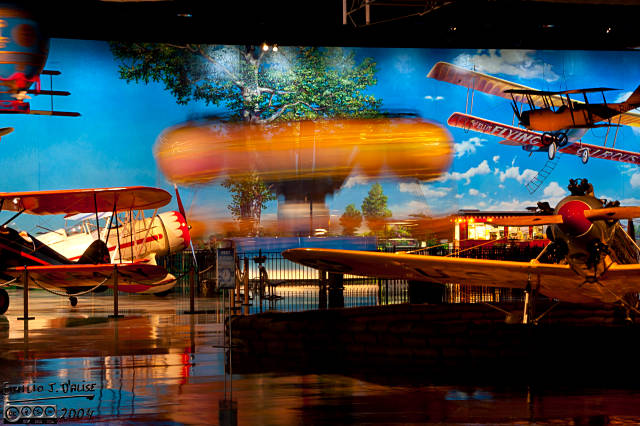 Planes, rides, simulators, Space Shuttle simulators . . . it's got everything, and all done well.