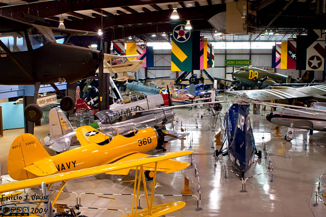 A portion of the second hanger