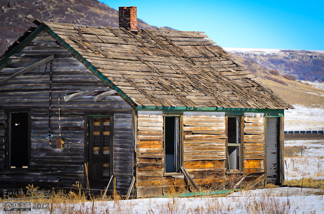 I think the haouse, or cabin, has lots to tell . . .