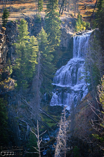 Undine Falls - just before the Blacktail Deer Plateau area