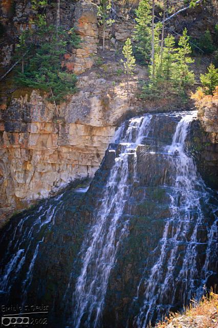 Rustic Falls, in the Silver Gate area.