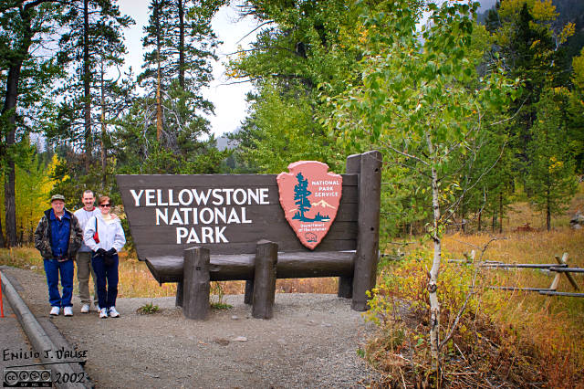 Our last Yellowstone Park 2002 photograph