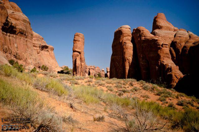 Arches National Park proper