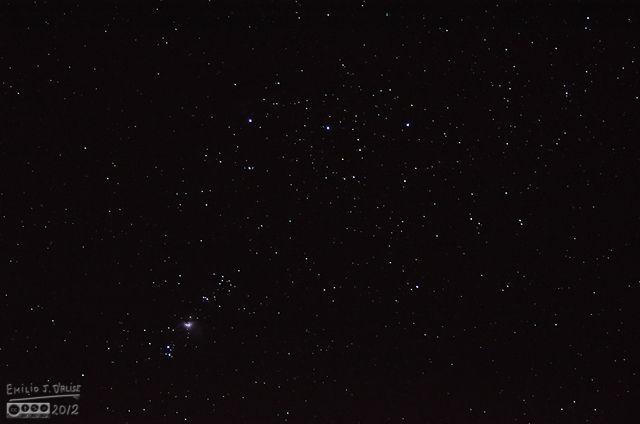 13MAR2012 - ejd crop - Orion's Belt and NC 1981
