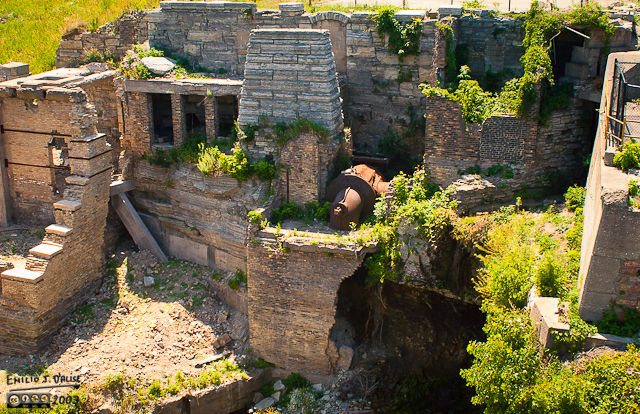 Remains of a Hydro-electric Power Plant  - Minneapolis, Minnesota