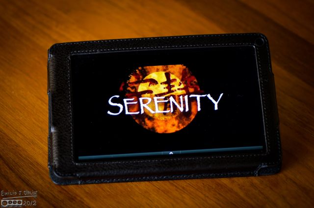 The opening of Serenity, the movie.