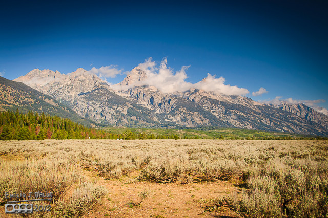 The Tetons as I see them . . .