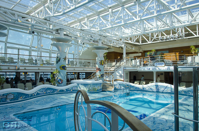 The Indoor Pool area