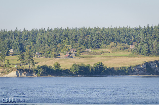 We passed numerous islands (or they looked like islands), all with homes on them.