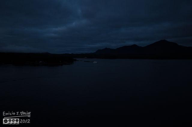Ketchikan - early morning, as shot.