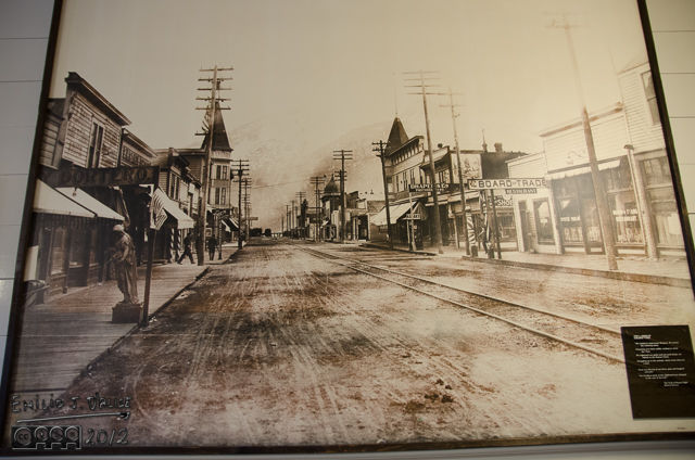 What Skagway looked like before tourists.