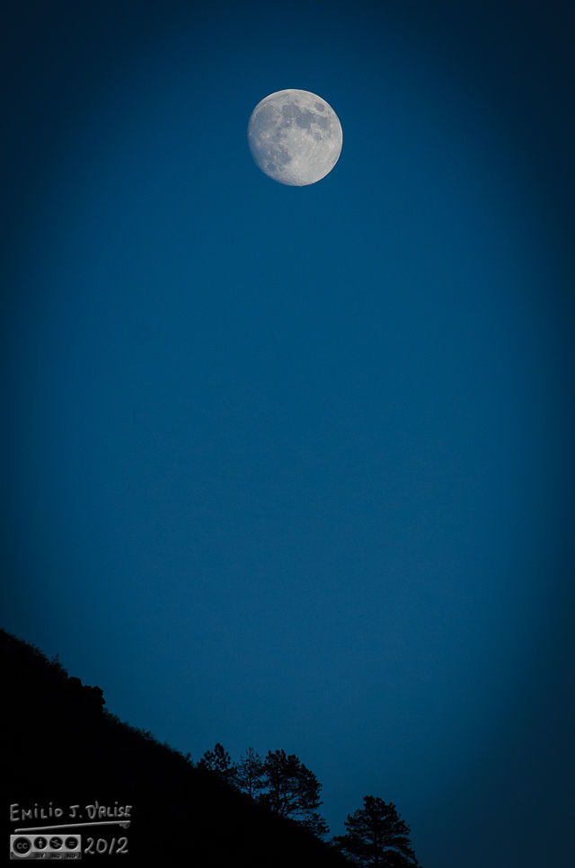 The Hill and Moon