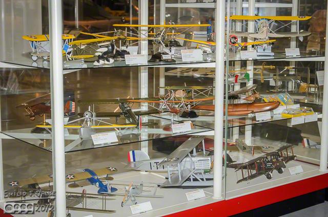 Models display case