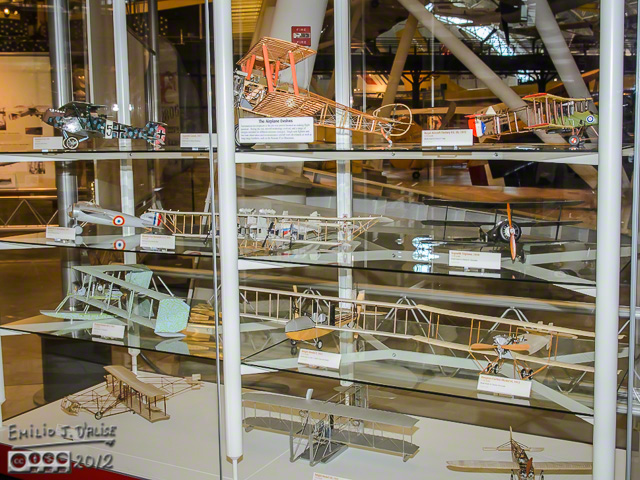 Models Display Case