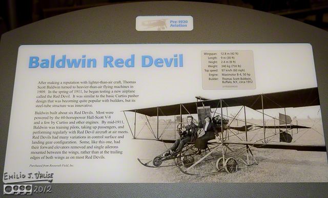 Baldwin Red Devil Sign