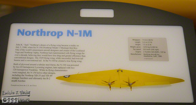 Northrop N-1M Flying Wing