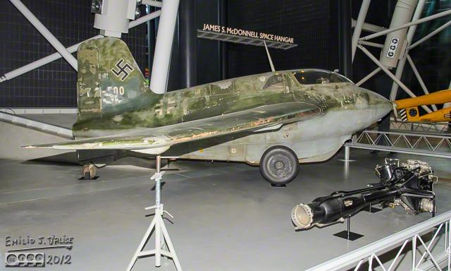 Hwk 109-509 A-1 Rocket Motor, with Me 163 B-1 Komet it powered