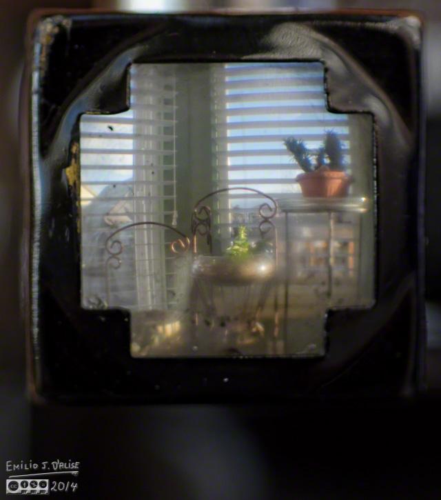 Agfa Ansco Viking viewfinder