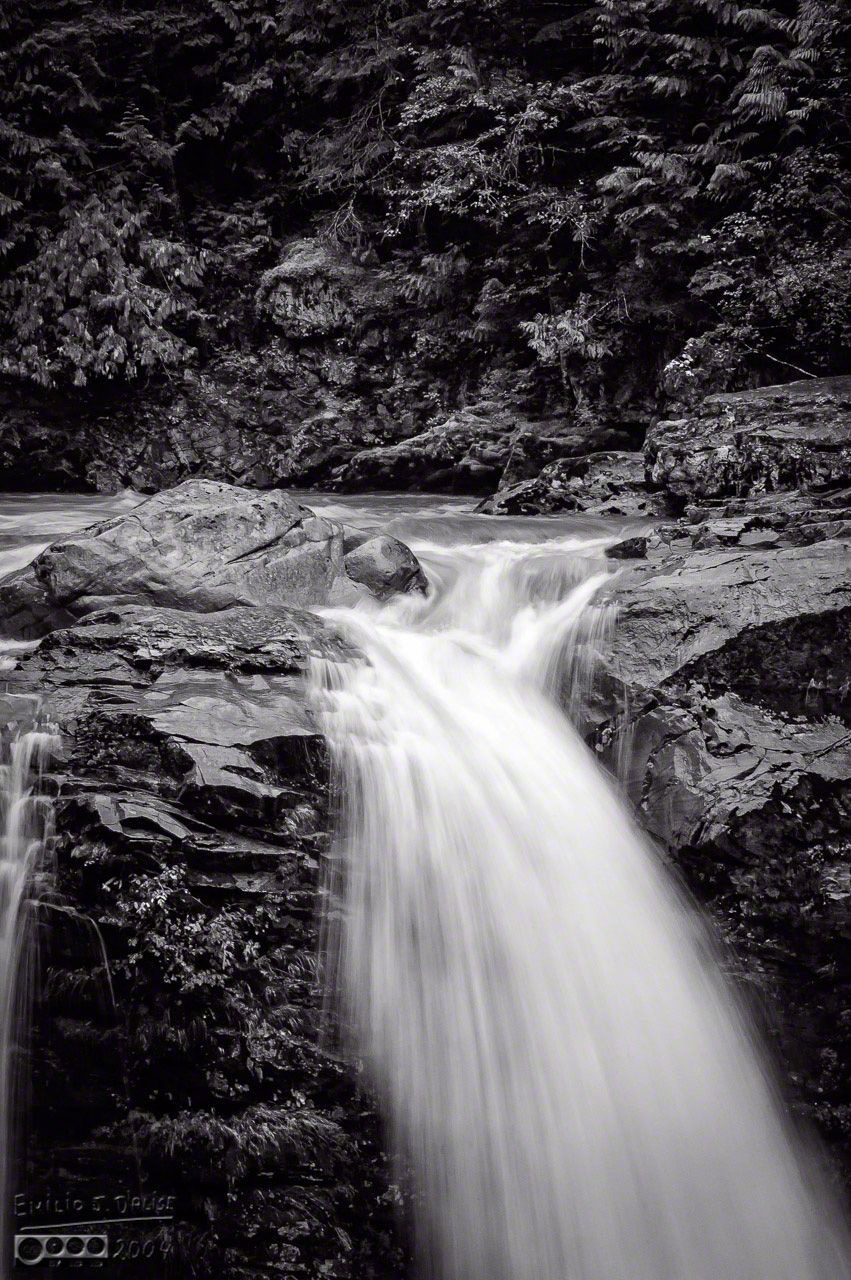 'Ultra-smooth' water in B&W