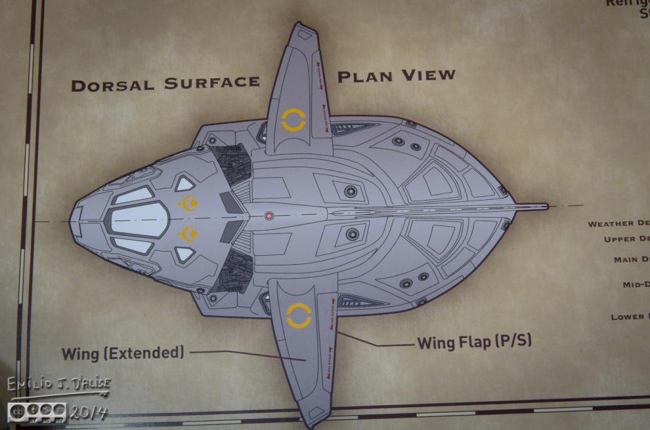 Serenity, Ship blueprints,