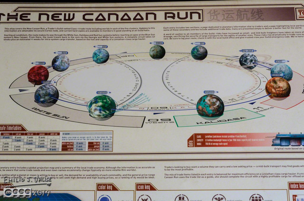 Firefly  U2013 New Canaan Run  Atlas Of The Verse  Vol 1