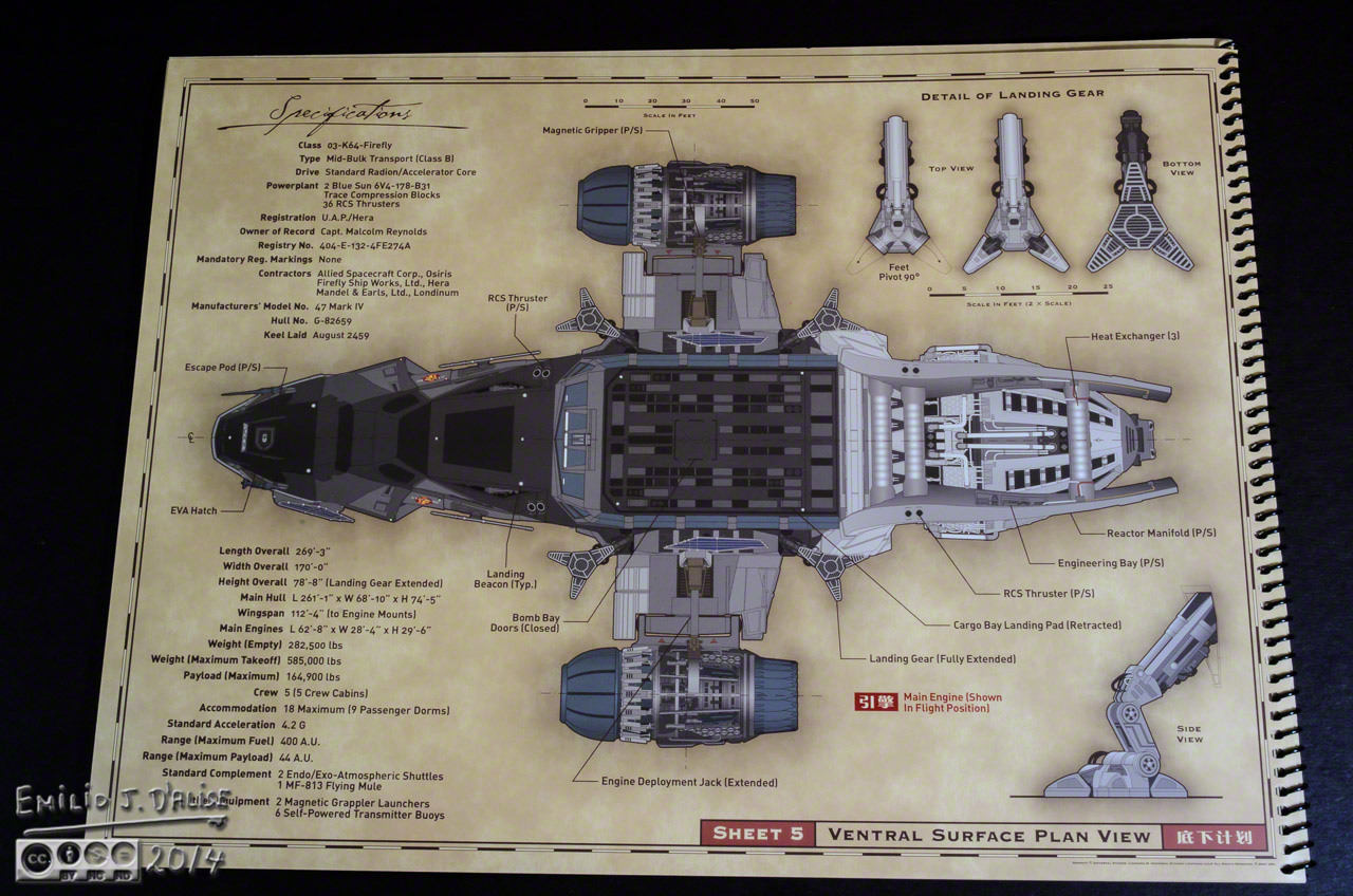firefly serenity blueprints reference pack disperser tracks rh dispersertracks com Firefly Serenity Deck Plans Serenity Ship Schematics