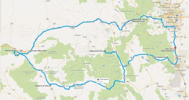 10-11SEP2014 - Grand Junction Circle Route