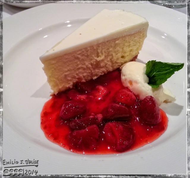Emilio's dessert