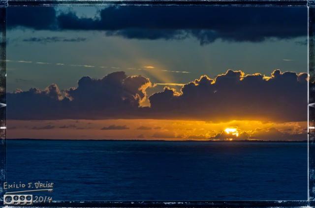 Cruise 2014,sea, sunset,
