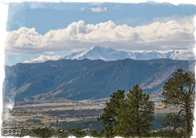 Clouds, Pikes Peak,