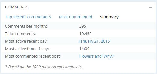 comments summary
