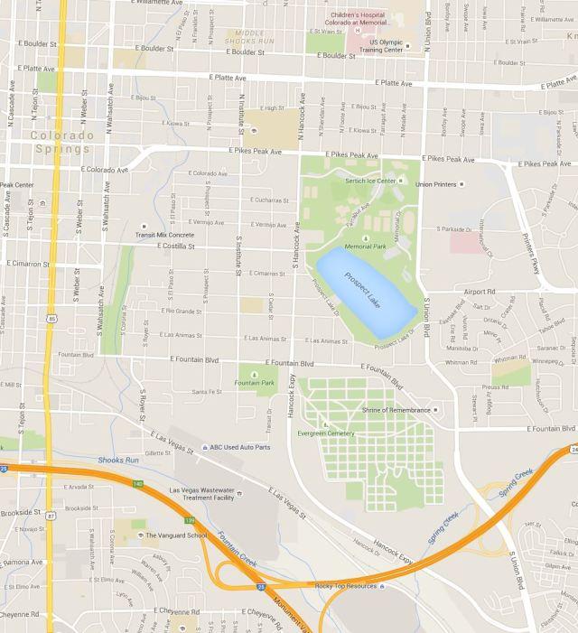 Prospect Lake Map