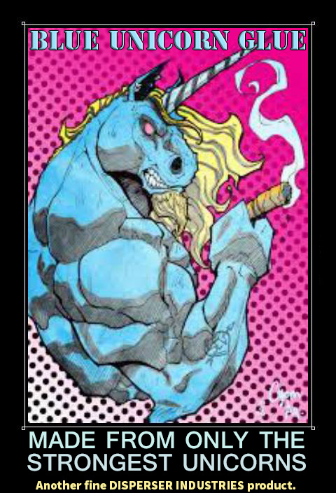 Blue Unicorn Glue