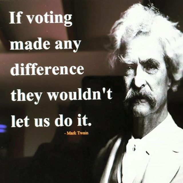 Mark Twain Voting